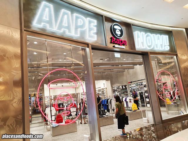 aape by bape dubai