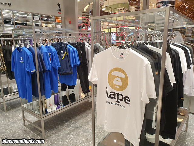 aape by bape dubai mall uae