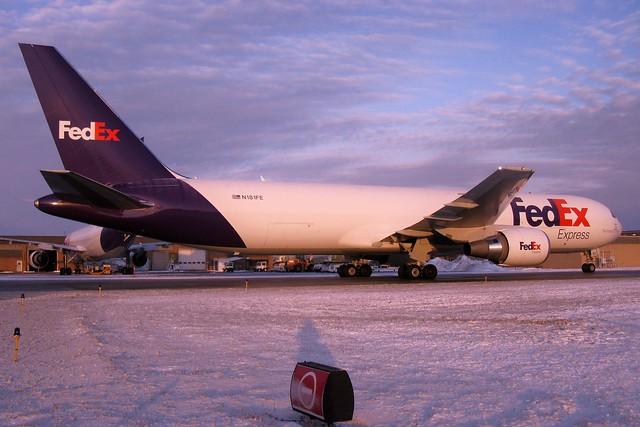 N181FE FedEx Express 767-3S2F(ER) at KCLE