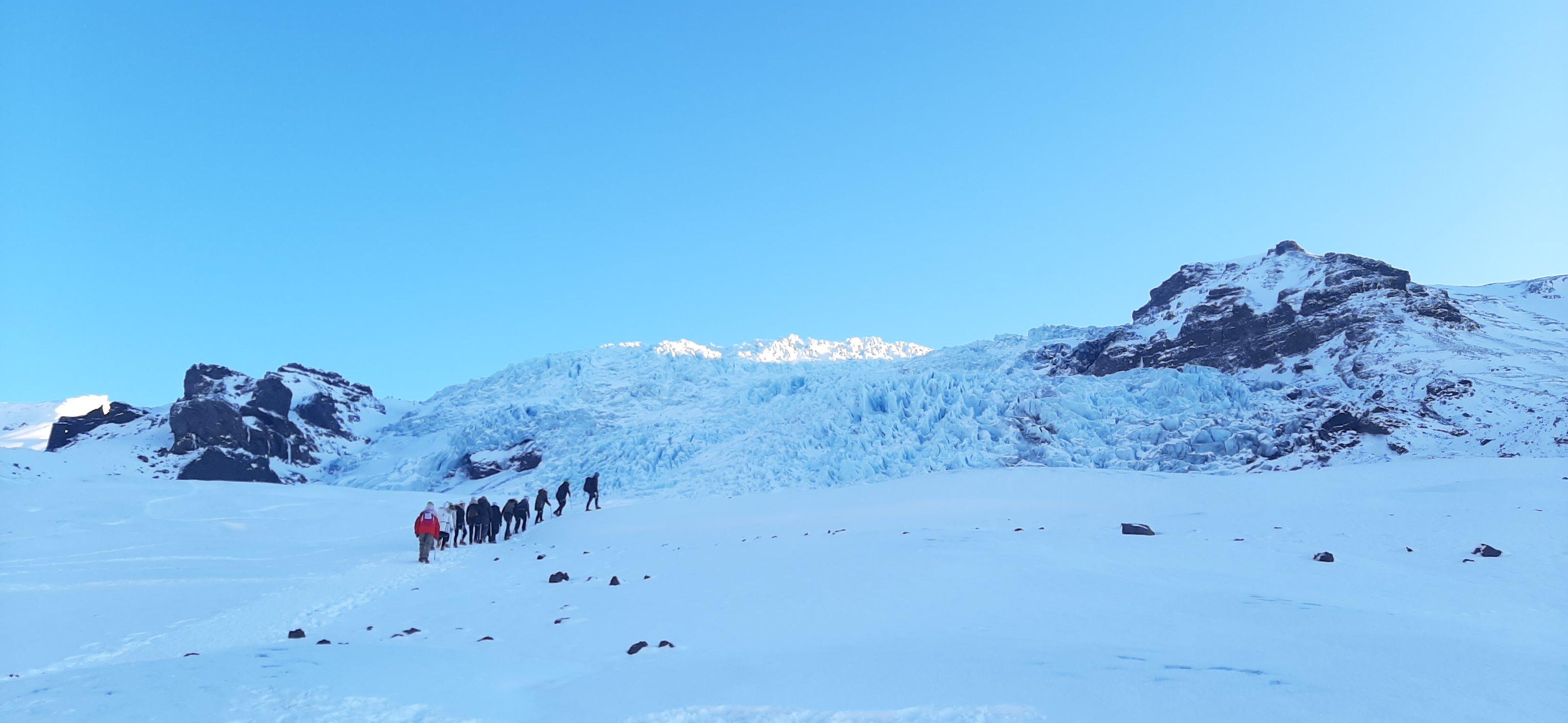 Falljökull Glacier hike
