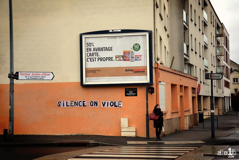 [07 Février 2020] – Un jour, une photo : « Silence, on viole »