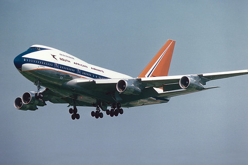 "South African Airways Boeing 747SP-44 ZS-SPB  ""Outeniqua"" 