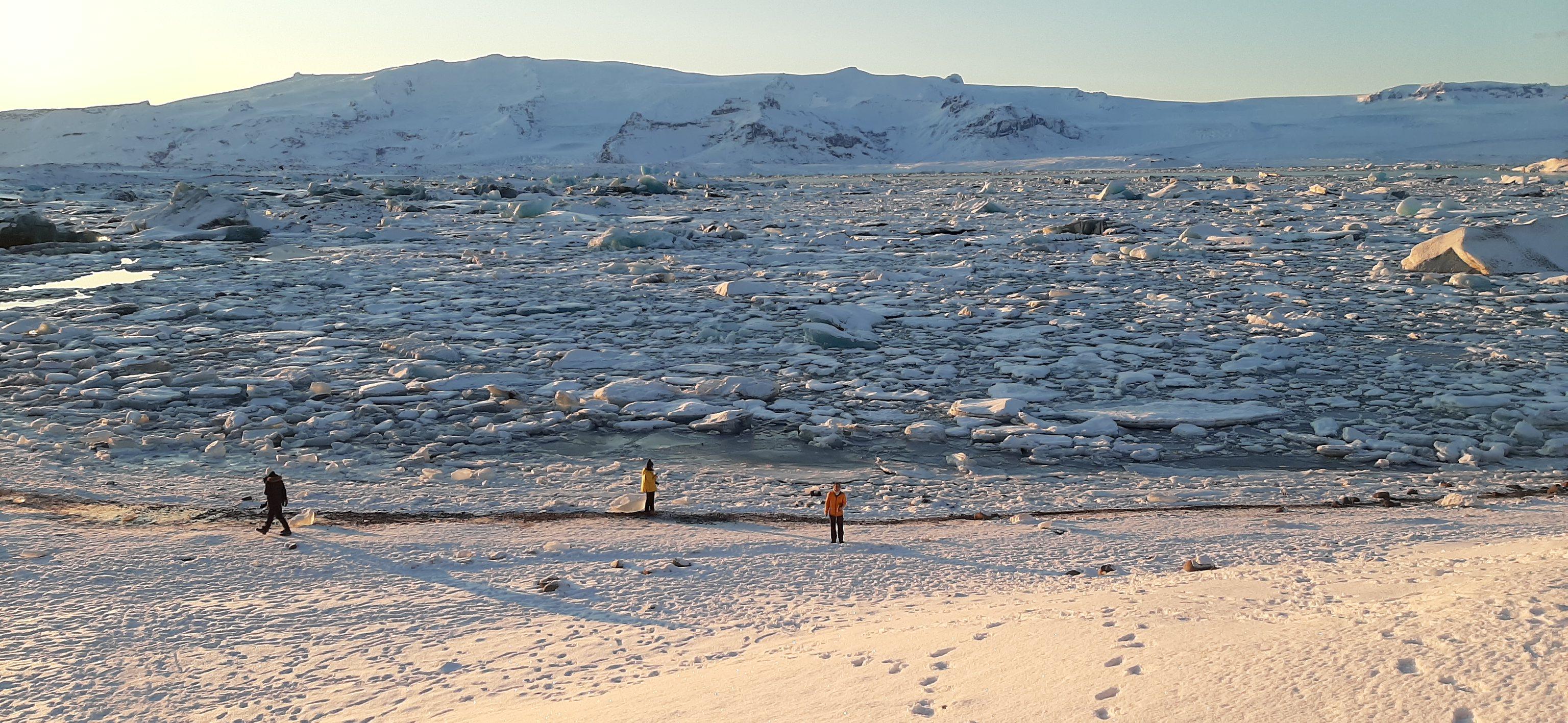 Jokulsarlon Glaciar Lagoon