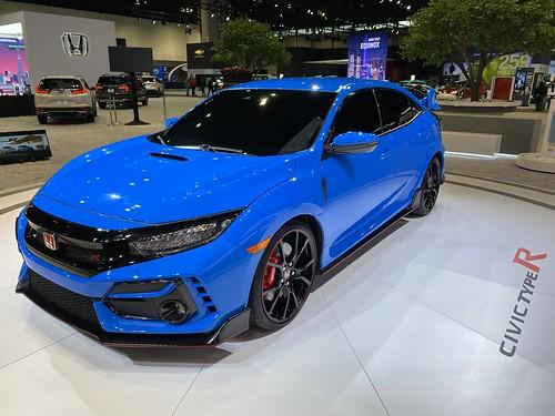 Chicago Auto Show 2020. Honda Civic Type R Photo
