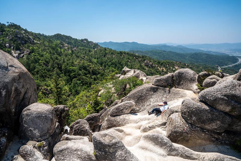 花崗岩の天狗岩