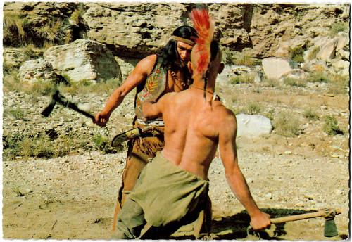 Daniel Martin and Ricardo Rodríguez in Der Letzte Mohikaner (1965)