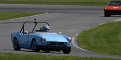 Number 901 1963 Triumph Spitfire driven by Kevin Gosselin