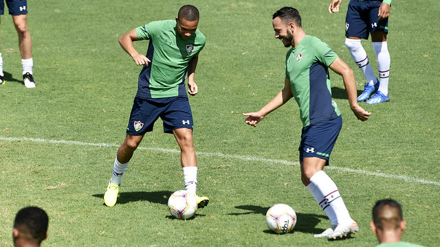 Treino do Fluminense 08/02/2020
