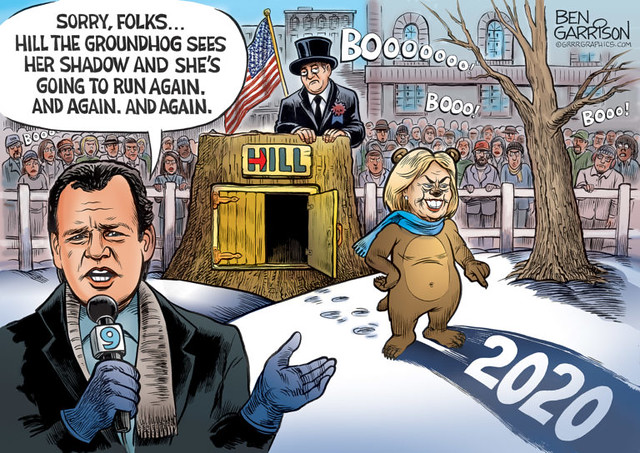 Hillary Clinton - Groundhog Day 2020