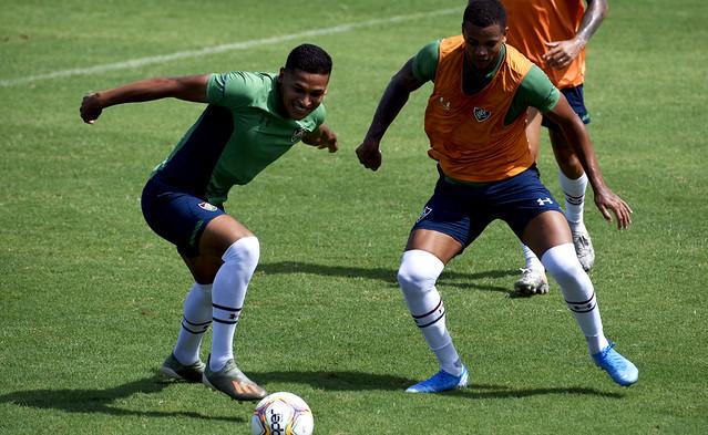 Treino do Fluminense 25/01/2020