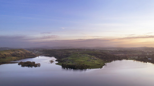 loughgur limerick countylimerick lake landscape water sun sunrise dawn ireland