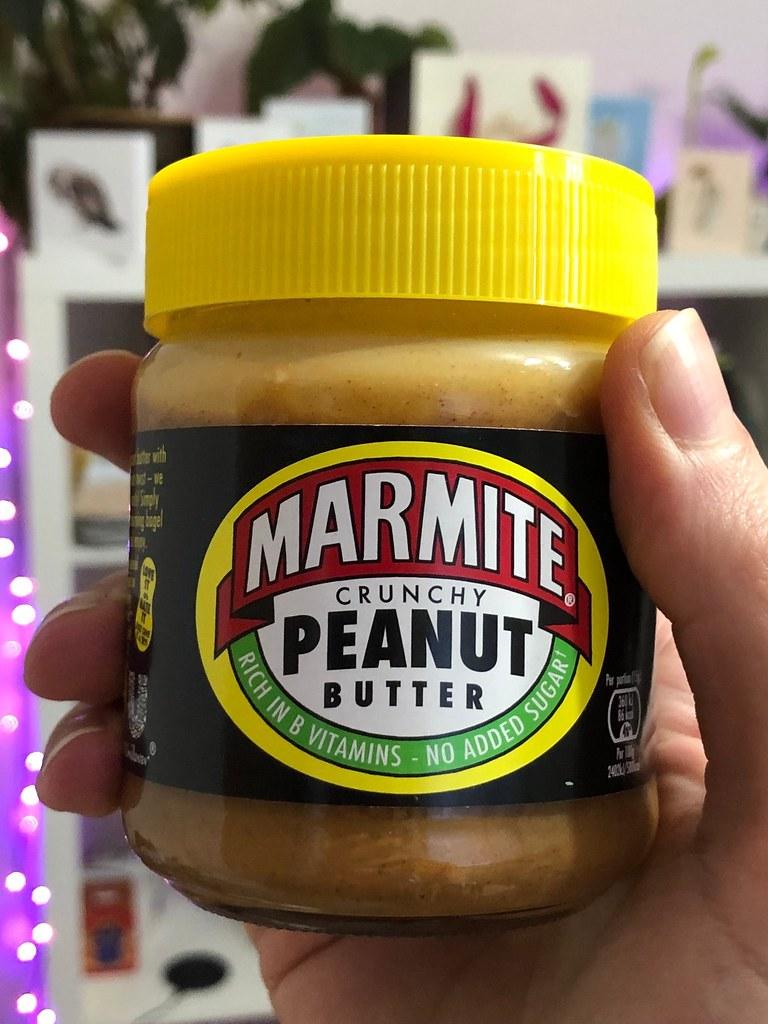 Marmite Peanut Butter Jar