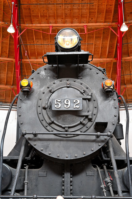 Locomotive front