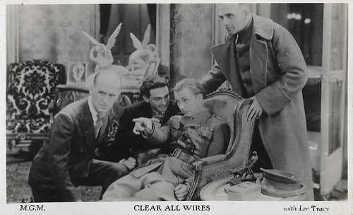 Lee Tracy in Clear All Wires! (1933)