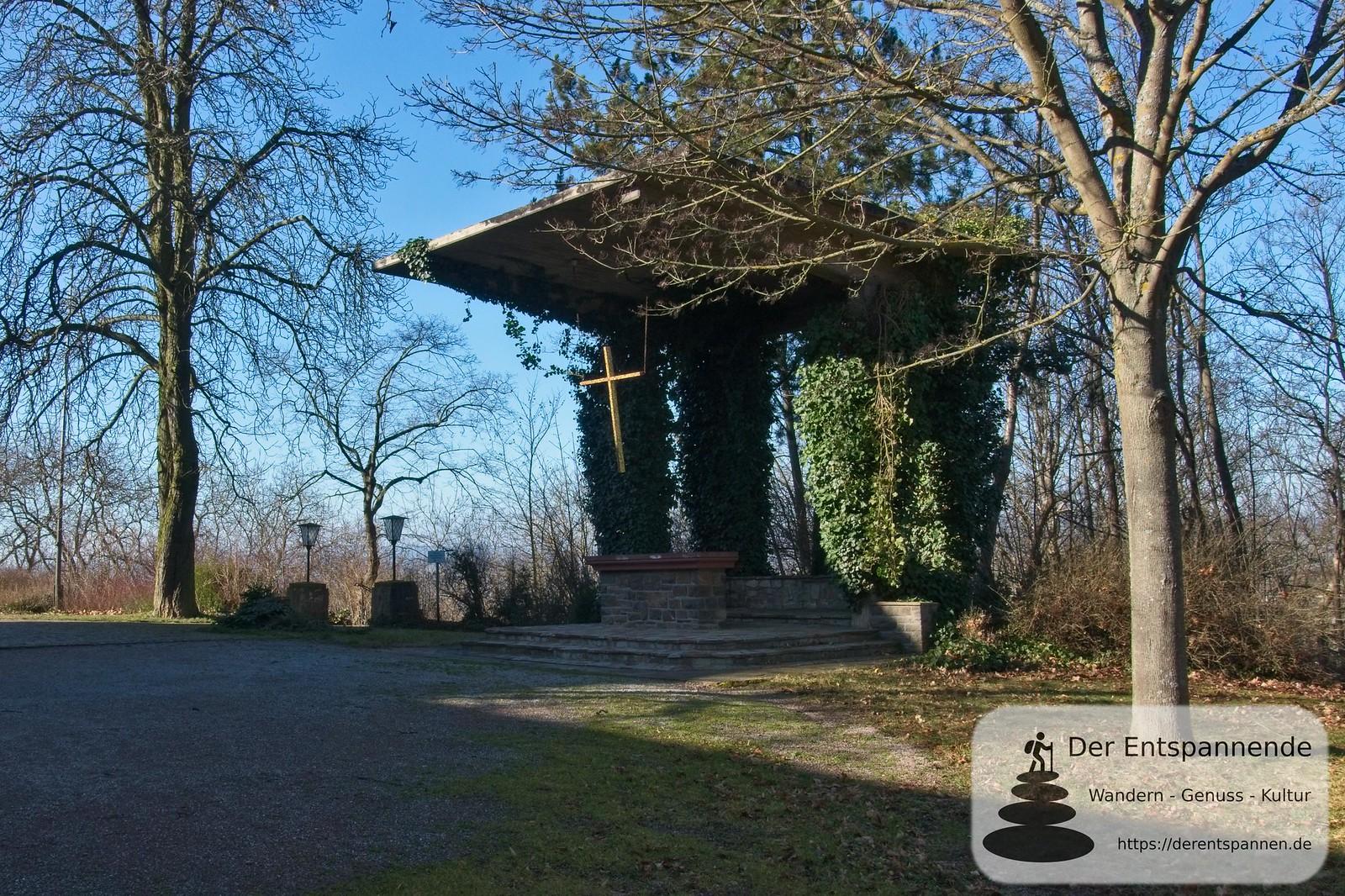 Außenaltar der Vierzehn-Nothelfer-Kapelle auf dem Jakobsberg