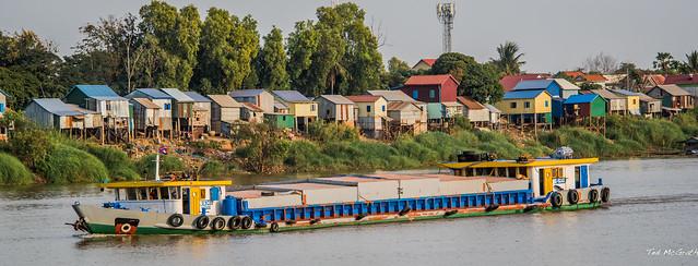 2019 - Cambodia - Tonlé Sap River - 8