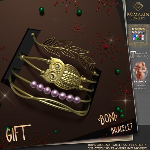 Romazin - Bracelet <Boni> GIFT, GIFT GROUP