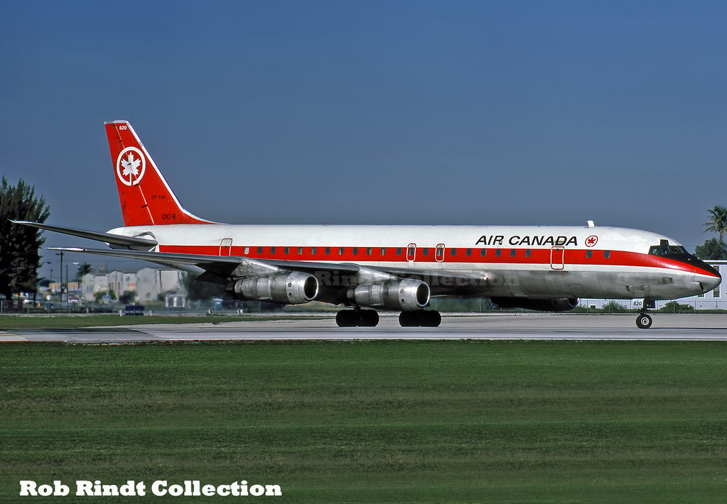Air Canada DC-8-53 CF-TIH