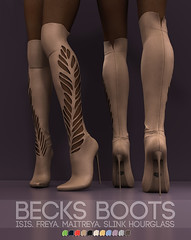Pure Poison: Becks Boots for Wanderlust, 50L