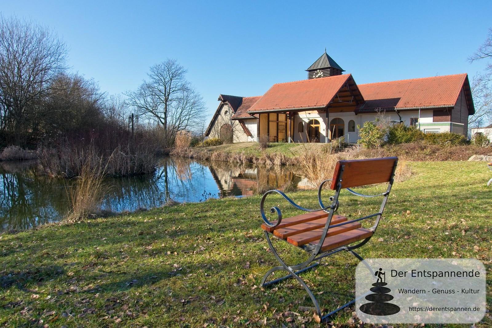 Teich am Kloster Jakobsberg