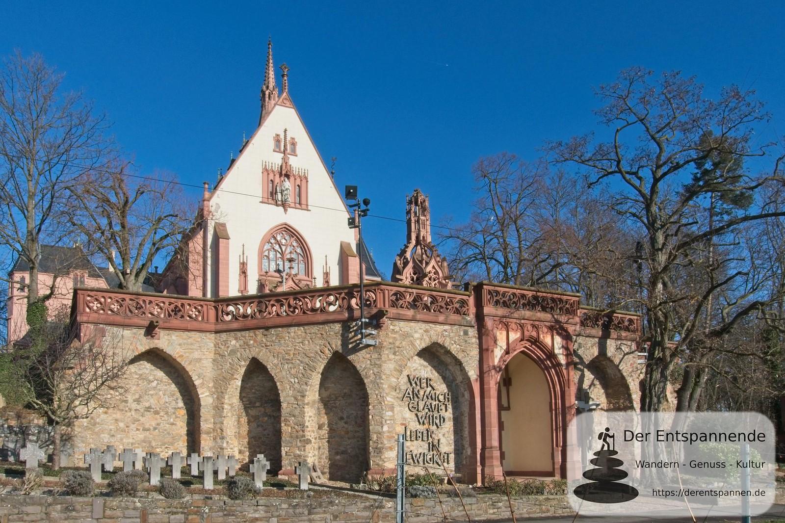 Rochuskapelle mit Betlehemkapelle auf dem Rochusberg (Bingen)