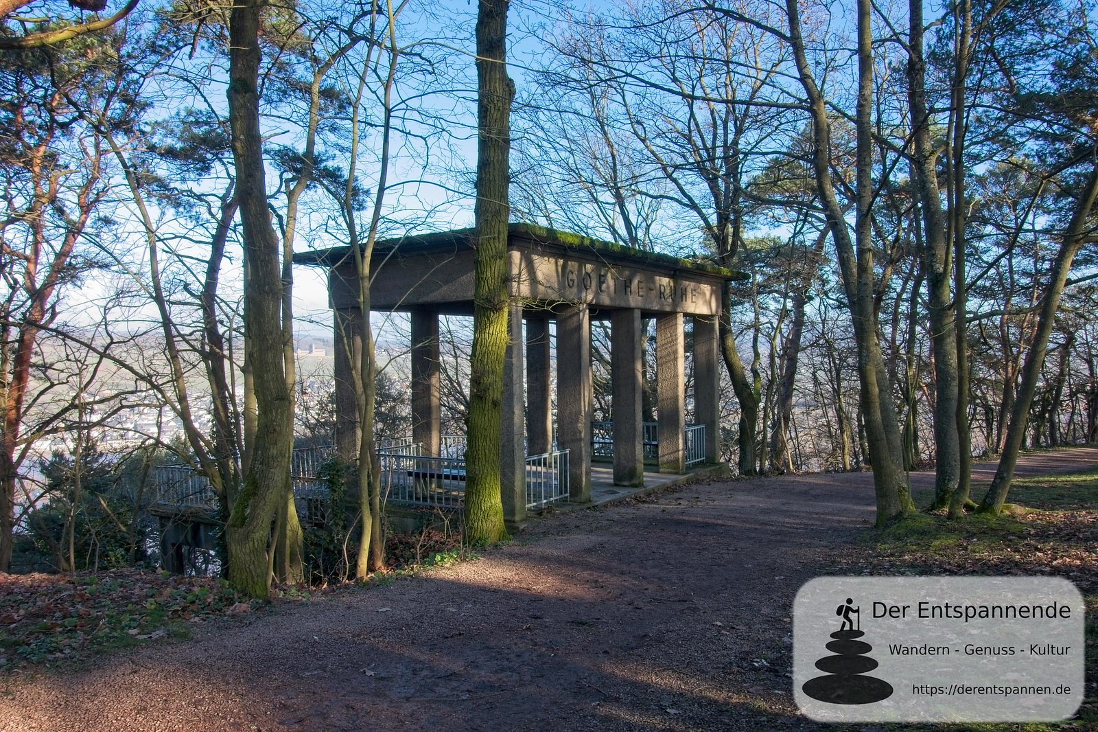 Goethe-Ruhe auf dem Rochusberg (Bingen)