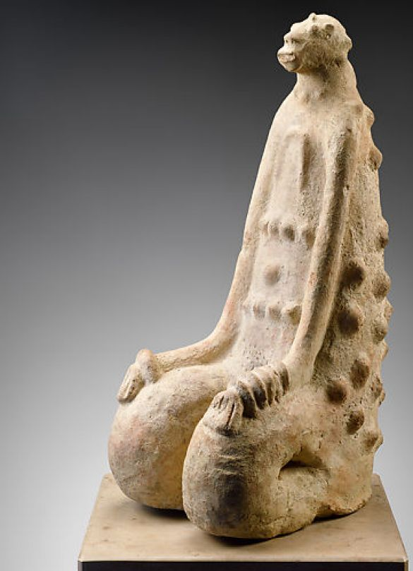 KneelingFigure12th–14thCenturyMiddleNigerCivilizationMaliInnerNigerDeltaTerracotta