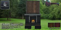 {ID} Studded Fireplace MW