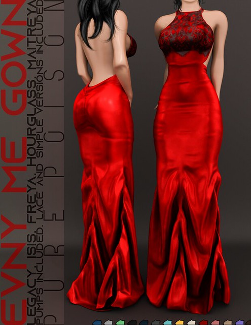 Pure Poison – Envy Me Gown @ Collabor88