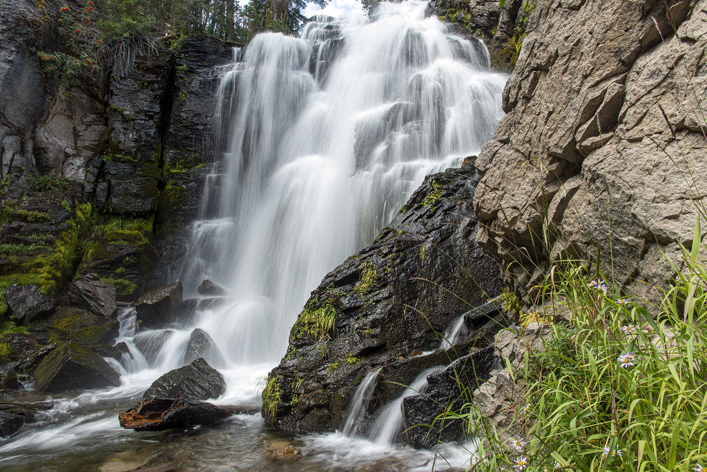 Lassen Volcanic National Park Waterfall