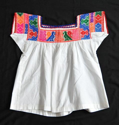 Puebla Mexico Nahua Blouse Textiles
