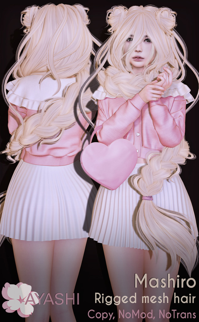 [^.^Ayashi^.^] Mashiro hair special for Cupid Inc. Event