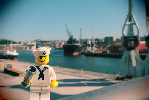 A sailor went to sea, sea, sea, To see what he could see, see, see #LegoScenes #CenasLego #lego #legography #legomacro #macro #minifigures #legominifigures #minifigs #legominifigs #winter #canon #sea #sunny #sunnyday# #sailor #see #harbor