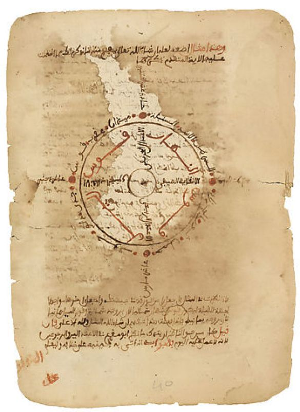 TheImportantStarsAmongTheMultitudeOfTheHeavens1733MaliTimbuktuPaper-DocumentsManuscripts