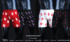 R2A VALENTINE BOXERS