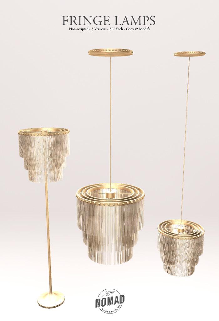 NOMAD // Fringe Lamps