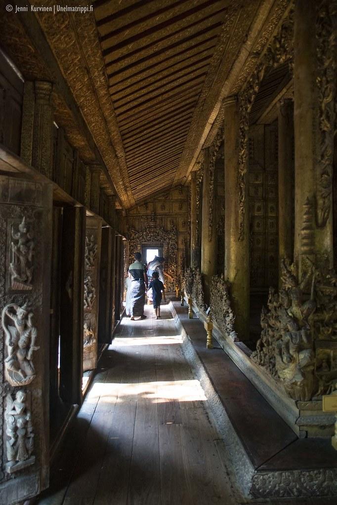 Shwenandaw-luostari on koristeellinen