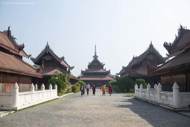 Kultainen palatsi, Mandalay