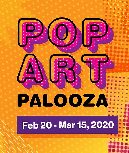 """Pop Art Pop Up"" Exhibit at City Arts Factory"