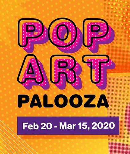 """""""Pop Art Pop Up"""" Exhibit at City Arts Factory"""