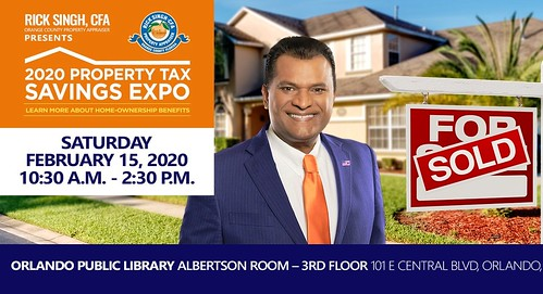 Rick Singh's Property TAX SAVINGS Expo