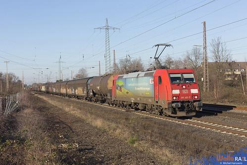 185 401 . DB Cargo . Lintorf . 07.02.20.