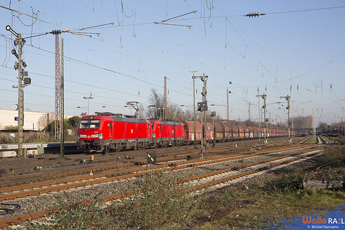 193 344 + 193 355 . DB Cargo . Düsseldorf Rath . 07.02.20.