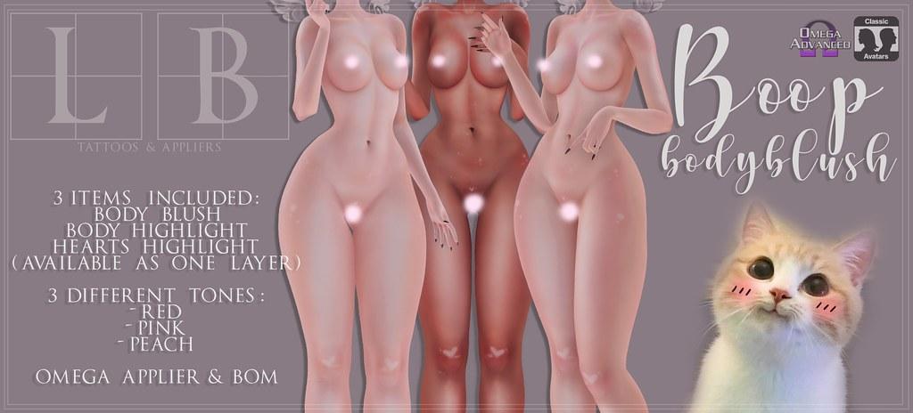 Ladybird. // Boop Body Blush ♥