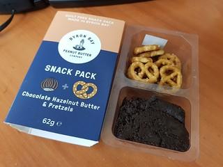 Byron Bay Peanut Butter Pretzels with Chocolate Hazelnut 'Spread'