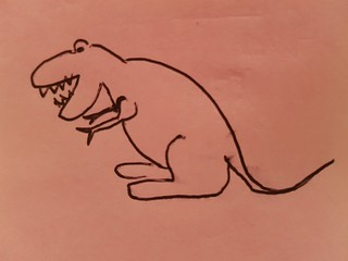 Poorly Drawn T Rex