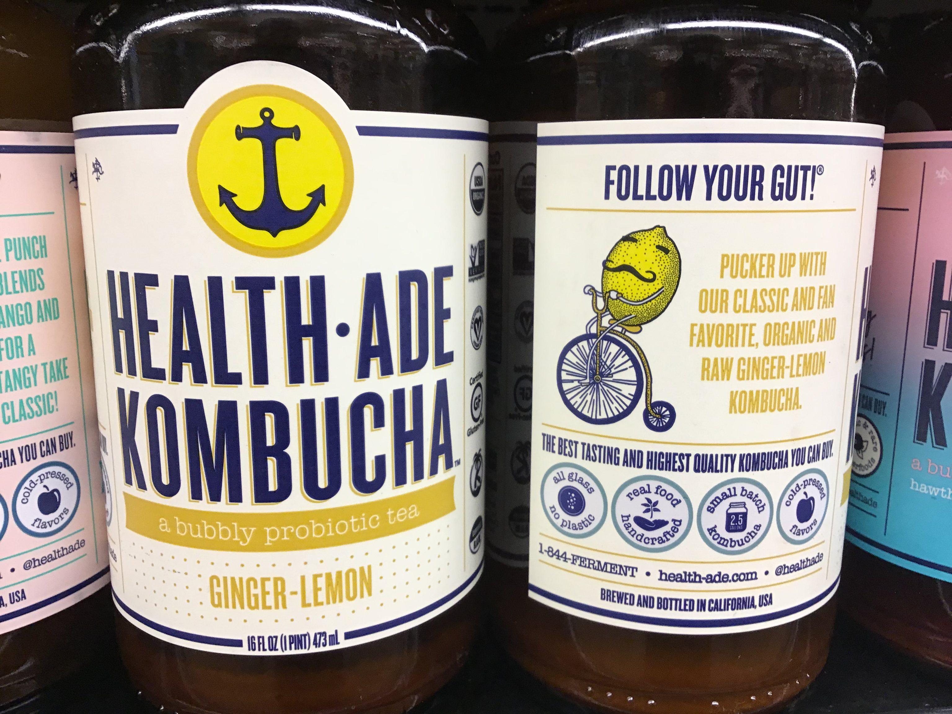 Kombucha, Health-Ade,