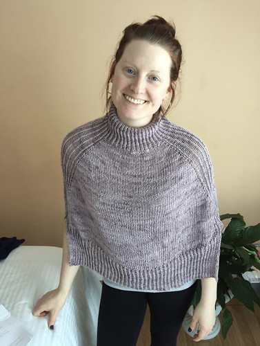 Christina finished Comfort Zone by Espace Tricot - Beautiful!