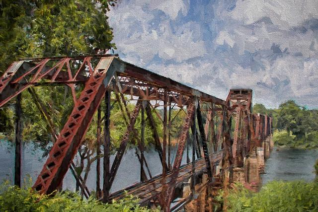 Augusta Old Railway Bridge