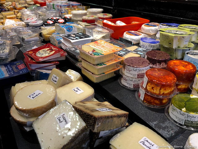 Cheese at the Market